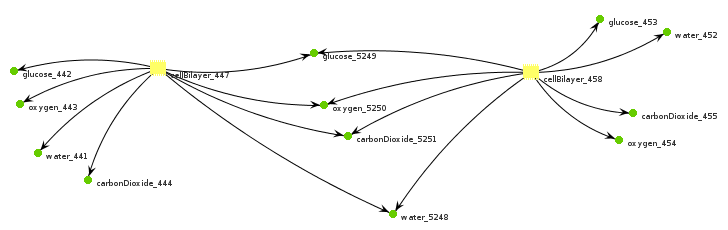 Bigraph link graph